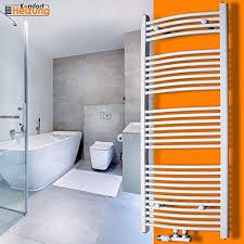 badheizkörper handtuchwärmer gebogen weiß handtuchtrocknerheizkörper heizung 1800x600
