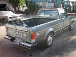 100 Rabbit Truck Diesel Power 1981 Volkswagen Pickup LX