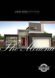 100 Dream Homes Australia The Modena Concept Range David Reid
