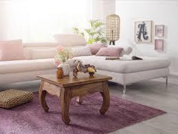 finebuy opium couchtisch jaipur 60 x 40 x 60 cm sheesham massiv holz echtholz wohnzimmertisch quadratisch braun palisander stubentisch niedrig