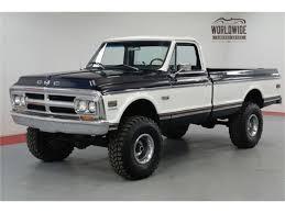 100 1972 Gmc Truck GMC Sierra For Sale ClassicCarscom CC1177125