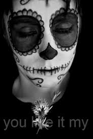 Easy Sugar Skull Day Of by You Like It My Easy Mexican Sugar Skull Makeup For Day Of The Dead