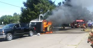 100 Food Truck Insurance Cost Army Vets Food Truck Squatchys BBQ Engulfed In Flames