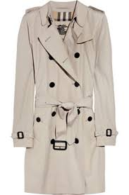 Burberry Twill Trench Coat