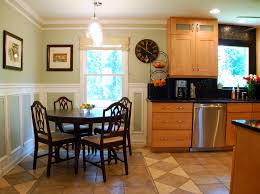 Kitchen Paint Colors With Golden Oak Cabinets by Kitchen Tour Design Ocd