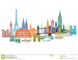 Travel Landmarks Stock Vector Illustration Of City Parliament