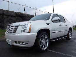 Sold.2009 CADILLAC ESCALADE EXT AWD 47K WHITE DIAMOND PREMIUM 22