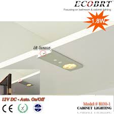 new ultra thin cabinet sensor light led linear bar light 12v
