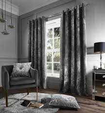 Ebay Curtains With Pelmets Ready Made by Lined Velvet Curtains Ebay