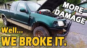 $500 F150 DESTRUCTION! It's Down... For Now | Truck Central - YouTube