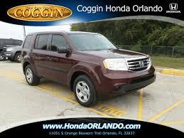 Honda Pilot For Sale In Orlando, FL 32803 - Autotrader