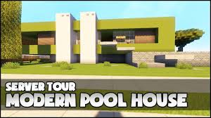 100 Modern Pool House Minecraft YouTube