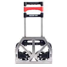 Magna Cart Personal 150 Lb Capacity Aluminum Folding Hand Truck ... Magna Cart Transport Fold Hand Truck Foldable Alinum Heavyduty Personal Folding Rugged Lweight Design Milwaukee Costco Sears Cheap Find Deals On Line At Alibacom Srs Mci Steel Red Best Trucks On The Market Dopehome Dudeiwantthatcom