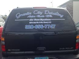 Granite City Detailing Back Window Decal Printed And Installed By ... Neongreencarvehicleback Free Photo From Needpixcom Window Decals For Business Logos Car Sticker Kiss Goodbye To Ms 2019 Christmas Wiper Decals Decorations Pvc Rear Product Renegade Window Decal Vinyl Windshield Fender Graphic Mockup Mock Up Truck Suv Etsy Peeping Family Art Pating Stickers Decor 2 Line Minivan Back Usdot Number Stickers How To Apply A Die Cut Or Your Youtube Aliexpresscom Buy Hotmeini 2x Sexy Women Silhouette Fits Gmc Trucks Custom Arts