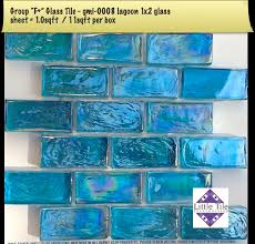 Little Tile Inc online source to Asia Series pool glass tile