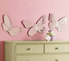 Pottery Barn Wall Decor by Wonderfull Mirror Butterfly Wall Decor Designs Interior Decoration