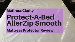 protect a bed allerzip smooth mattress protector review say