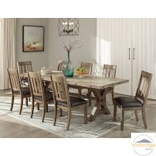 Northridge Home Booker Extending Dining Room Table 8 Chairs