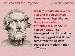 the odyssey in modern the iliad and the odyssey ancient greece ppt