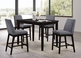 5 Piece Counter Height Dining Room Sets by Latitude Run Kingston Seymour 5 Piece Counter Height Dining Set