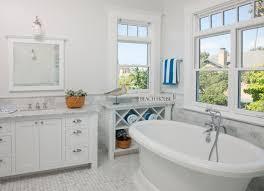 Coastal Bathroom Home Design Ideas and