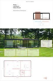 100 Define Glass House Philip Johnsons Golden Section Analysis On Behance