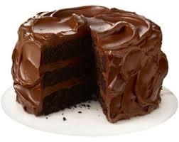 Free clipart chocolate cake