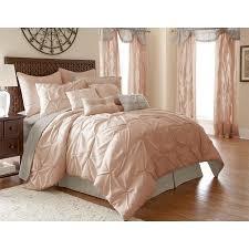 Bed Skirts Queen Walmart by 24 Piece Comforter Set Ella Blush Queen Walmart Com