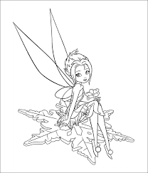 Tinkerbell Coloring Page To Print