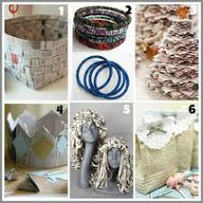 10 Free Craft Supplies To Save And Work With Newspaper