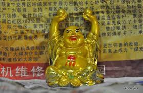 buddha nimmt keinen schaden im badezimmer zentao über