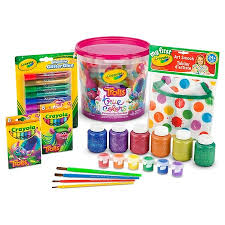 crayola trolls true colors creativity bucket creativity