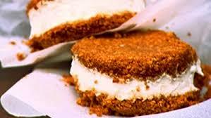 cuisiner avec du gingembre dessert glacé aux biscuits de gingembre