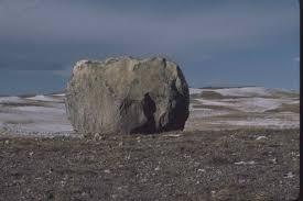 Dresser Trap Rock Boulders by Prairiemary June 2006