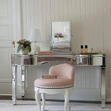 pink tulle vanity stool design ideas