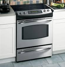 ge profile 30 slide in electric range js968skss ge appliances