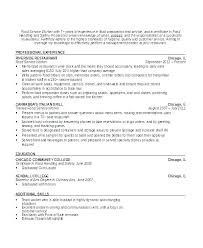 Putting Waitress Experience On Resume Objective For Example Sample No
