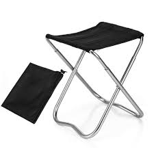 Buy Leegoal Folding Camping Stool, Mini Portable Folding ...