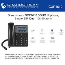 Grandstream GXP1610 SOHO IP Phone Single SIP, 3-way Conferencing Grandstream Dp720 Cordless Voip Phone Review Telzio Blog Configure The Ht486 Localphone Admin Everythingip Approx 60 Gxp1405 Voip Phones Office Clearance Stock Gxv3275 Multimedia Ip For Android And Offering 2 Lines Poe 128x40 Dect Handset Warehouse Teil 1 Telefon An Avm Fritzbox Einrichten How To Make Attended Transfer On A Gxp2130 Category Hd Viriya Computama Pittsburgh Pa It Solutions Perfection Services Inc