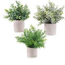 e bestar künstliche pflanzen im topf künstliche pflanzen gras im topf klein für home schreibtisch küche badezimmer garden deko 3 pack