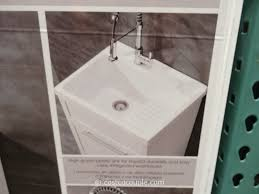 Double Sink Vanity Home Depot Canada by Laundry Room Superb Laundry Utility Sink Cabinet Costco Walvt