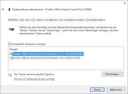 prolific usb to serial comm port error code 10