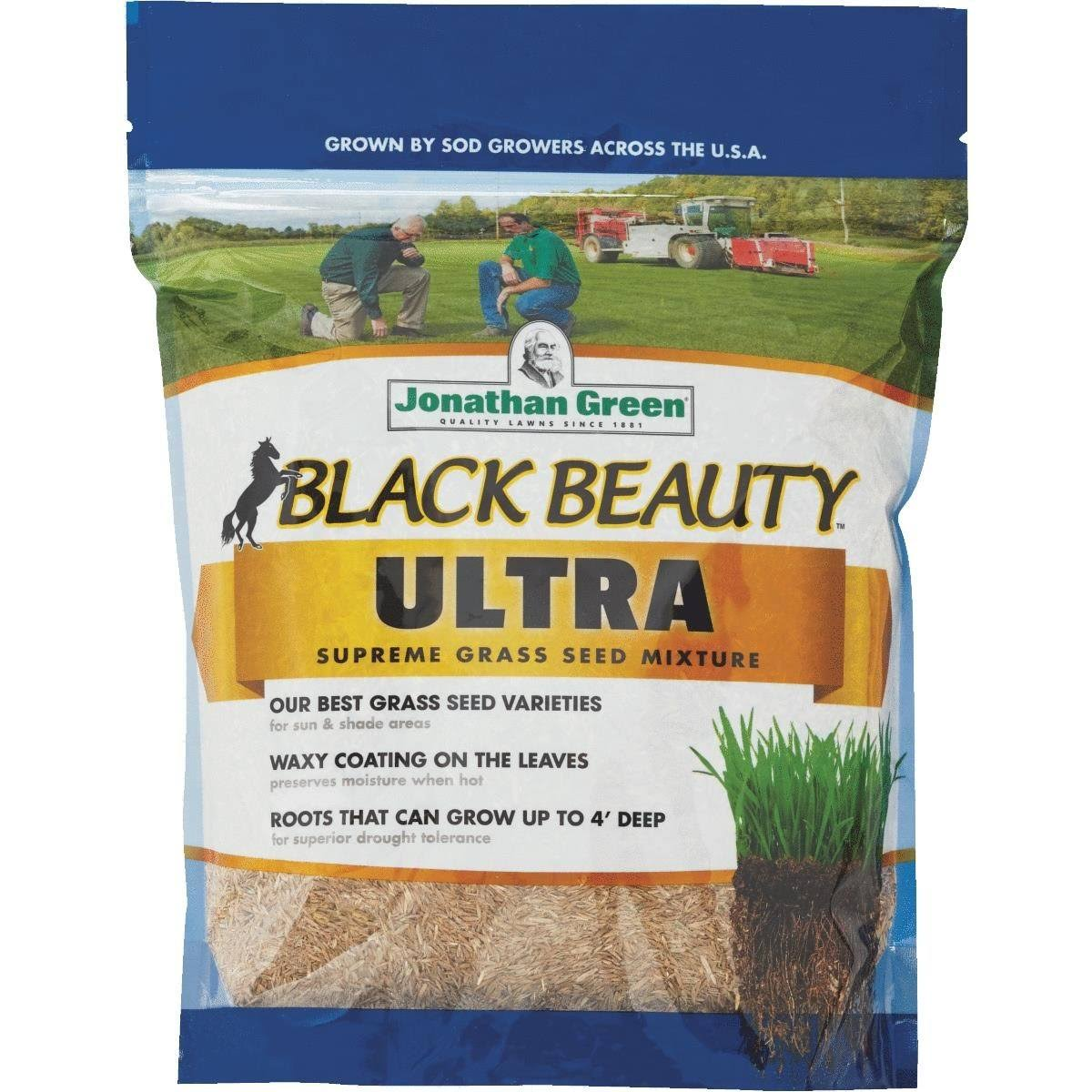 Jonathan Green Black Beauty Ultra Grass Seed Mixture - 1lb
