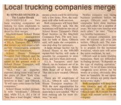 Local Trucking Companies Merge | Universal Warehousing Truck Driving Jobs Heartland Express Advisory Services For Automotive Trucking Companies How Will 3d Prting Affect Fleet Management Info Jim Eleking Wolcott In Smithsolomon On Twitter Happy Ckingtruesday Our Advantages Of Becoming A Driver Blog Guinn Auction Small To Medium Sized Local Hiring Schneider National Florida Hours Of Service Wikipedia Ruan Transportation Systems