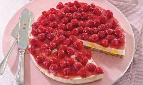 leichte himbeer pfirsich torte