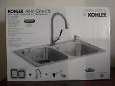 Kohler Hartland Sink Rack by Kohler Stainless Steel Kitchen Sinks Ebay