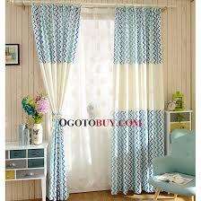 vorhang schlafzimmer blau