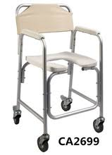 handicap toilet chair with wheels buy commode chair and get free shipping on aliexpress