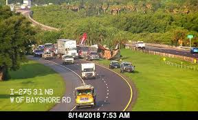 100 Bayshore Truck What Is Blocking A Lane On Interstate 275 On Tuesday Aug 14