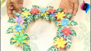 Good Paper Wall Hanging Crafts Very Easy Home Decorating Idea With How To Make Hangings At